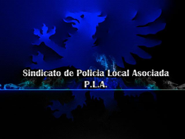 sindicato policia local asociada fondo grifo azul