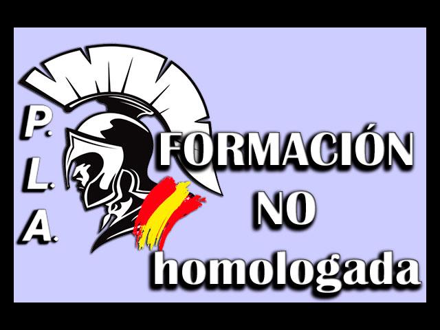FORMACION NO HOMOLOGADA PLA