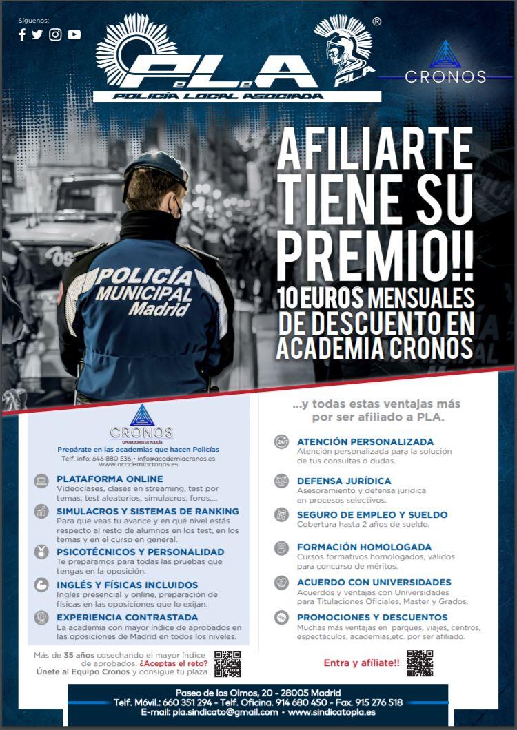 Cronos oposiciones de policía
